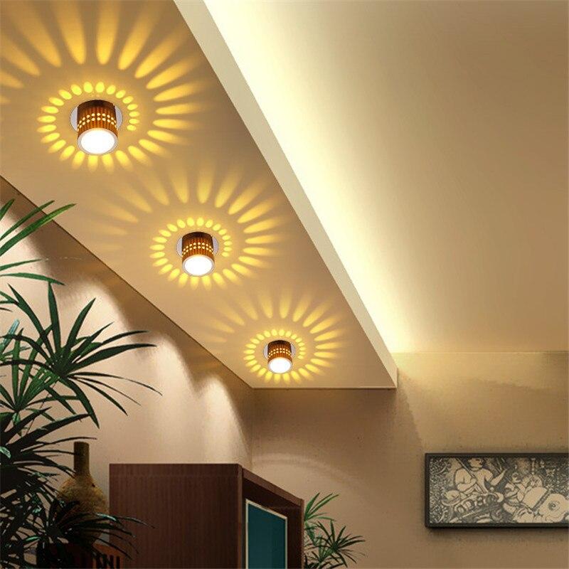 Dekorasi dari lampu downlight