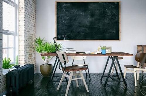 Desain Industrial Untuk Ruang Klien Bisnis Di Rumah Anda